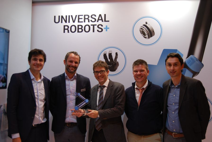 ​Iberfluid systems as a certified system integrator Universal Robots Integrator Partner